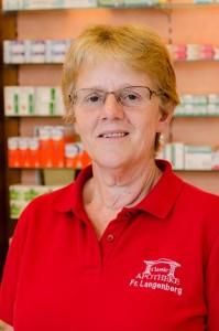 Frau Langenberg, Warenannahme und Fahrerin